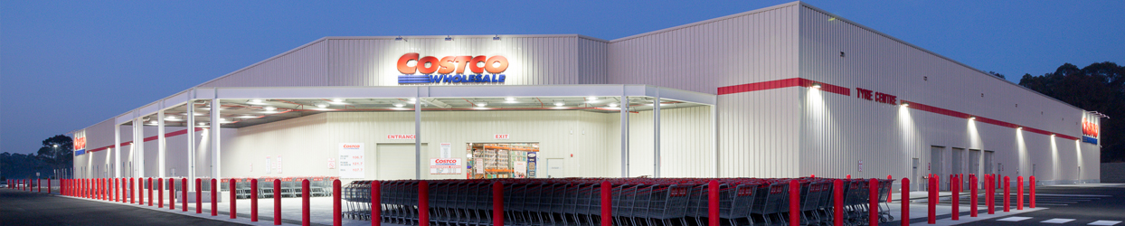 Canberra Costco warehouse